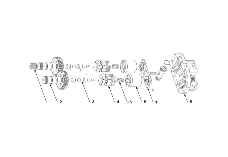 Hitachi HPV091 Serisi Hidrolik Pompa